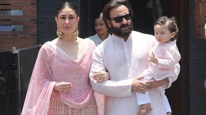 Kareena Kapoor, Saif Ali Khan, dan Taimur Ali Khan