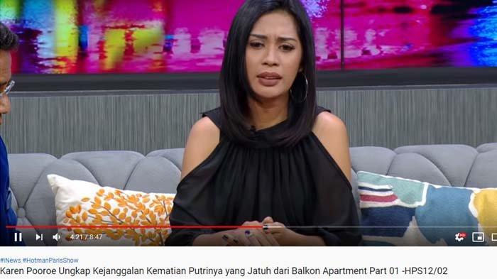 Suami Jadi Tersangka Dugaan KDRT, Begini Respon Karen Pooroe