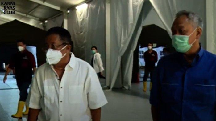 Karni Ilyas Keliling RS Covid-19 Tomy Winata, Dilengkapi Alat Canggih : Harapan Kami Tidak Terpakai