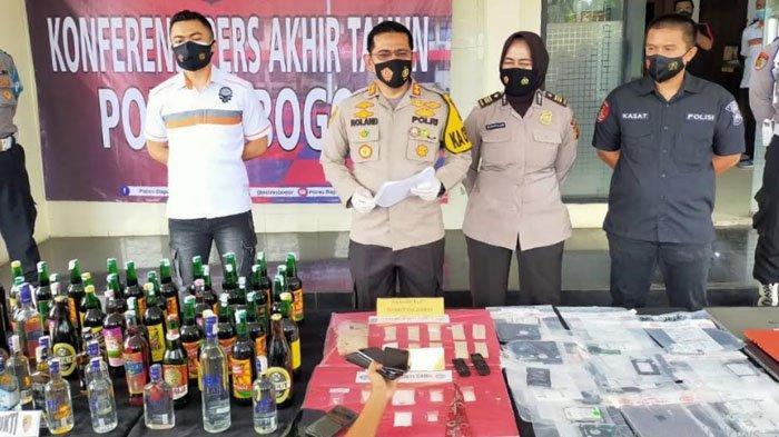 Jumlah Kasus Kriminal di Kabupaten Bogor Tahun 2020 Mengalami Penurunan 6,5 Persen