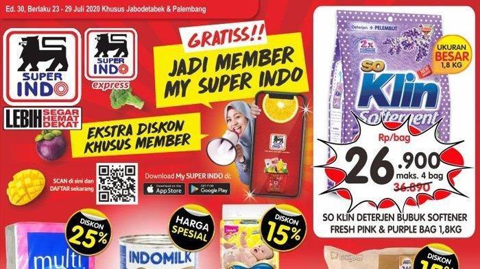 Katalog Promo Superindo 10-16 September, Extra Diskon Kebutuhan Deterjen hingga Beras