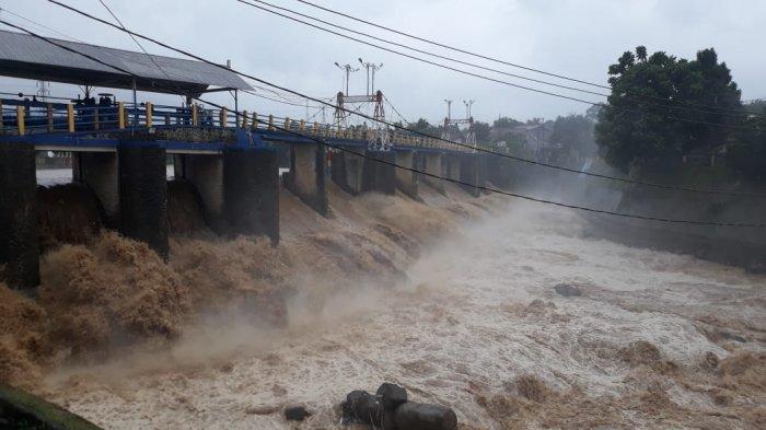 Update Ketinggian Bendung Katulampa dan Cuaca di Sekitar Bogor, Sabtu Sore