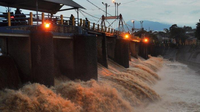 Sempat Naik, Tinggi Muka Air Bendung Katulampa Bogor Kembali Turun