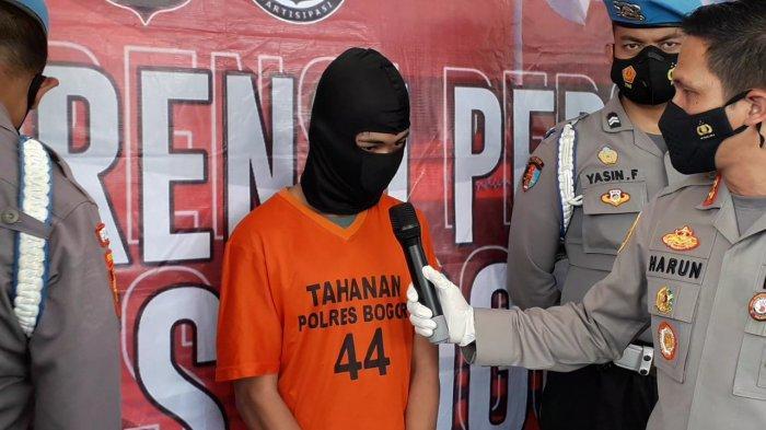 Pengakuan Begal Bersenjata Celurit yang Rampas HP Warga di Bogor : Saya Diarahin