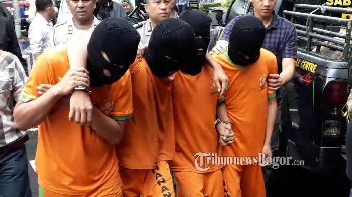 Kawanan Perampok di Bogor Melawan Saat Ditangkap, Satu Petugas Terluka