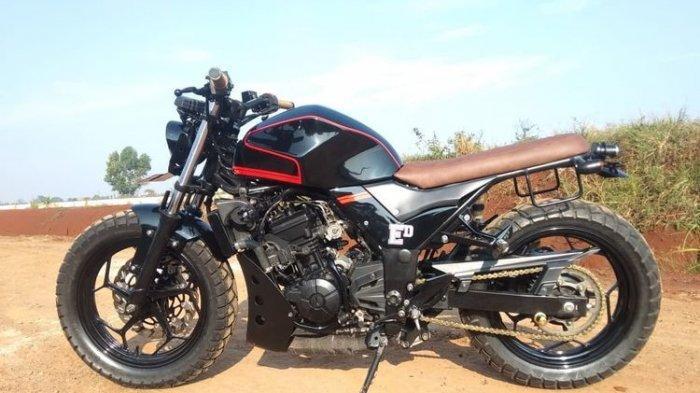 Intip Tampang Sangar Kawasaki Ninja 250 yang Dimodif Jadi Tracker, Lengkap Spesifikasinya