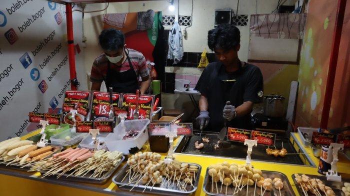 Berburu Takjil di Jalan Bangbarung Bogor, Ada Beragam Jajanan Tradisional hingga Kekinian