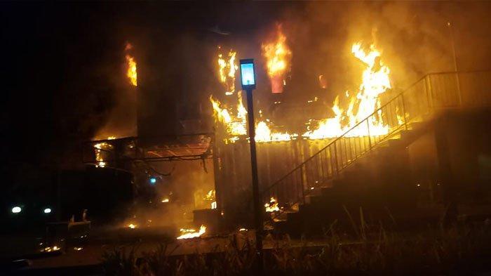 Cafe di Cileungsi Bogor Terbakar, 9 Orang Dilaporkan Luka-Luka