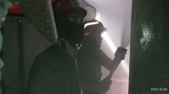 Gara-gara Bocah Main Api, Rumah di Ciawi Bogor Terbakar