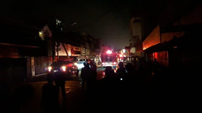 Kebakaran di Kawasan Jalan Merdeka Kota Bogor, Lalu Lintas Macet Total