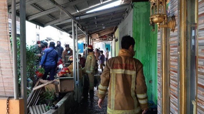 BREAKING NEWS - Tiga Rumah Warga Bojonggede Bogor Kebakaran