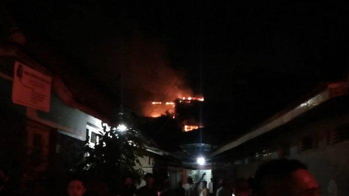 Tidak Ada Korban dalam Kebakaran di Ruko Jalan Merdeka Bogor