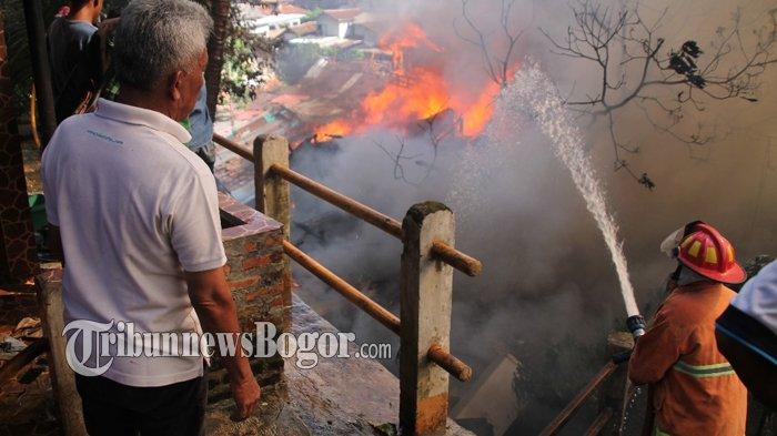 Data Polisi, Kebakaran di Gudang Bogor Menimpa 60 Kepala Keluarga