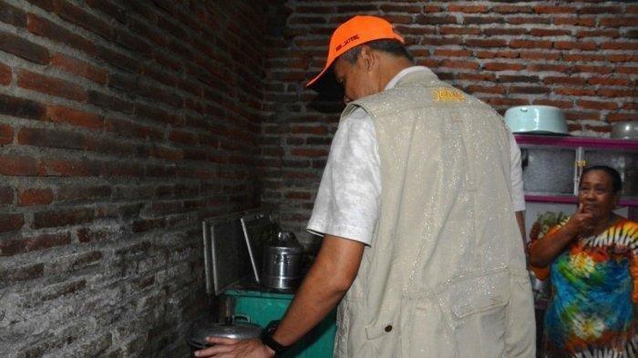 Ngaku Lapar dan Tak Punya Beras, Wakini Malu Saat Ganjar Pranowo Temukan Nasi Goreng di Dapur