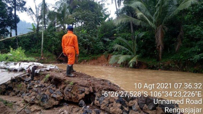 2 Kampung di Cigudeg Kabupaten Bogor Diterjang Banjir, Puluhan Rumah Terendam