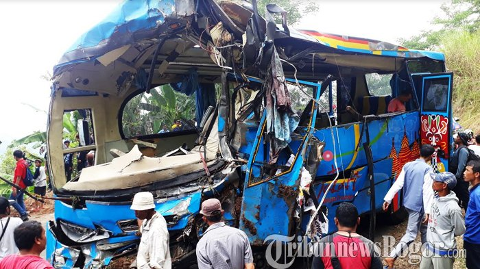 Lokasi Bus Terperosok di Cikidang Sukabumi Sering Terjadi Kecelakaan, Warga : Ini Paling Sadis !