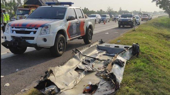 Putra Amien Rais Terlibat Kecelakaan Beruntun di Tol Cipali, Mobil Ringsek: Lukanya Parah