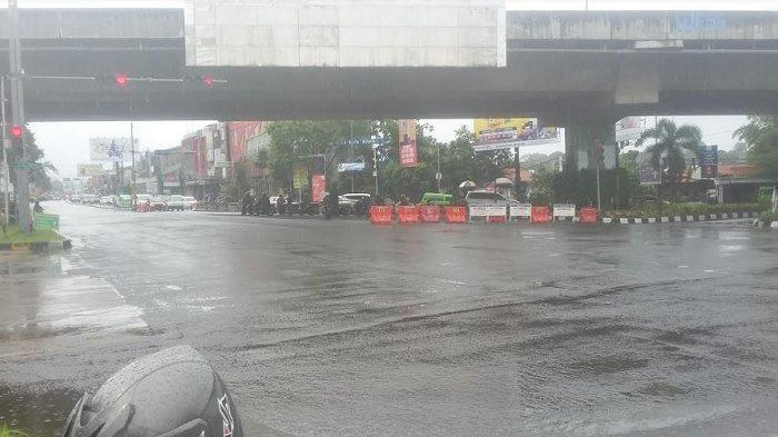 Sering Terjadi Kecelakaan di Simpang Tol BORR, Dishub Akan Buat Analisa Pemasangan Countdown Timer