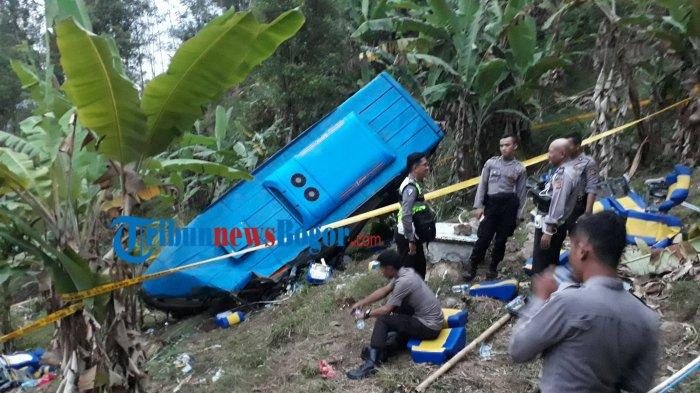 Sopir Bus yang Kecelakaan di Sukabumi Masih Hidup, Sudah Diamankan Polisi