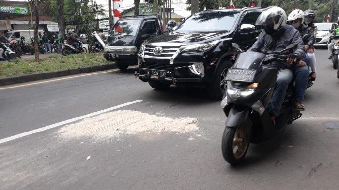 Terlibat Kecelakaan, Pengendara Motor Tewas Tewas Terlindas Truk di Jalan KH Abdullah Bin Nuh