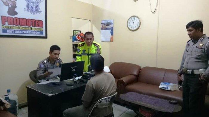 Sopir Truk Maut Penyebab Kecelakaan Beruntun di Leuwisadeng Bogor Diamankan Polisi