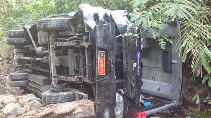Bus Rombongan Guru Masuk Jurang di Palabuhanratu, 7 Korban Dirujuk ke Jakarta