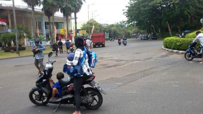 Lawan Arus, Pengedara Sepeda Motor Tertabrak Truk Gas di Sekitaran BNR