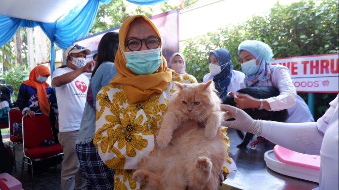 DKPP Kota Bogor Gelar Vaksinasi Rabies untuk Hewan Peliharaan, Turut Sediakan Vitamin Gratis