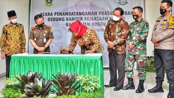 Gunakan Anggaran Rp 8,5 Miliar, Kantor Baru Kejari Kabupaten Bogor Diresmikan