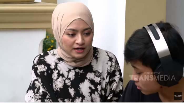 Kelakuan Rizwan Bikin Istri Sule Kesal, Nathalie Holscher Hampir Pingsan : Bunda Pusing Tahu Gak !