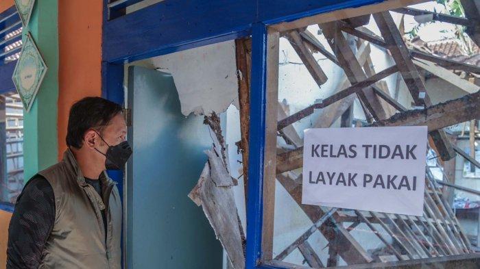 Baru Mau Persiapan PTM, Ruang Kelas SD di Bogor Keburu Ambruk, Bima Arya : Cek Pemeriksaan Bangunan
