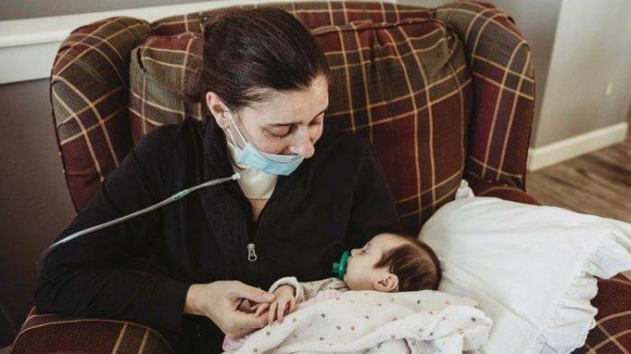 Melahirkan dalam Keadaan Koma Karena Positif Covid-19, Wanita Ini Ketemu Bayinya Setelah 75 Hari