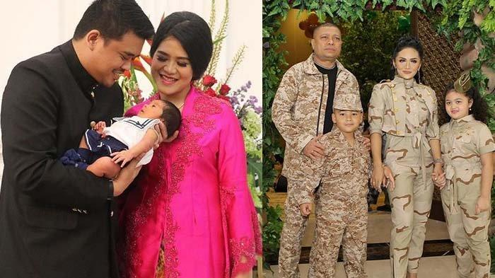 Kahiyang Ayu Hadir di Ultah Anak Krisdayanti, Penampilan Sedah Mirah Cucu Jokowi Jadi Sorotan