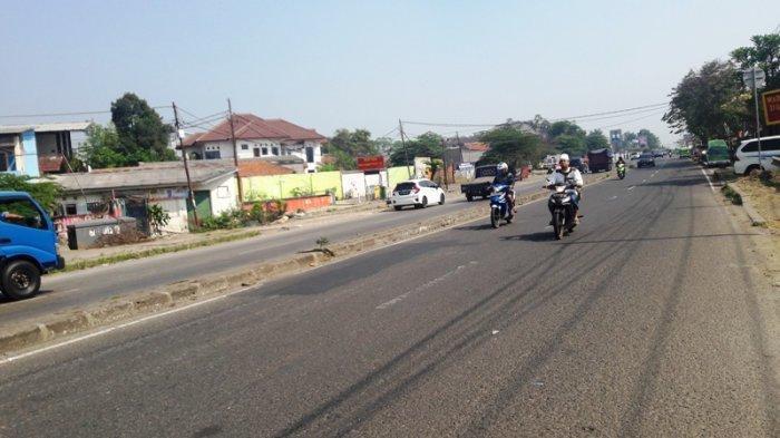 Kendaraan dari Arah Parung Bogor Lancar ke Jalan Sholeh Iskandar