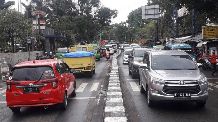 Ganjil Genap Ditiadakan, Lalu Lintas Kendaraan di Kota Bogor Kembali Padat