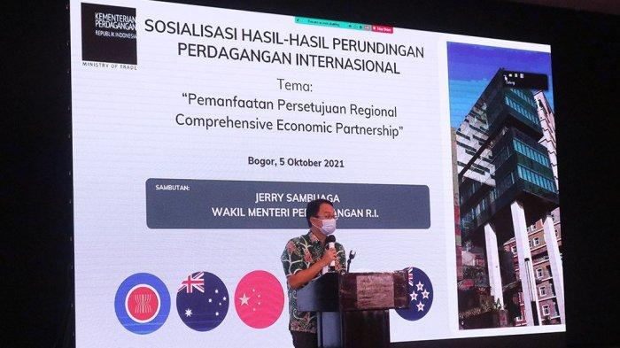 Sosialisasi Perundingan Perdagangan Internasional, Kota Bogor Siap Jadi Hub RCEP