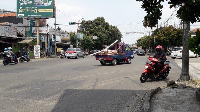 Info Lalu Lintas - Simpang Kedung Halang Bogor saat Ini Lancar