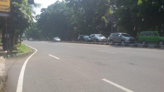 Jelang Siang Ini, Lalu Lintas Jalan Pajajaran Lancar ke Arah Sukasari