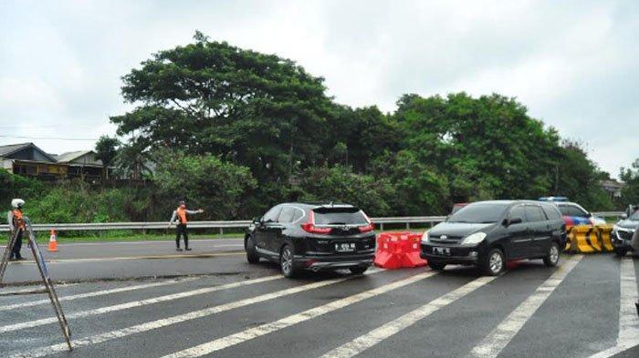 Tak Sesuai Aturan Ganjil Genap, Sejumlah Kendaraan yang Akan Masuk Kota Bogor Diputar Balik