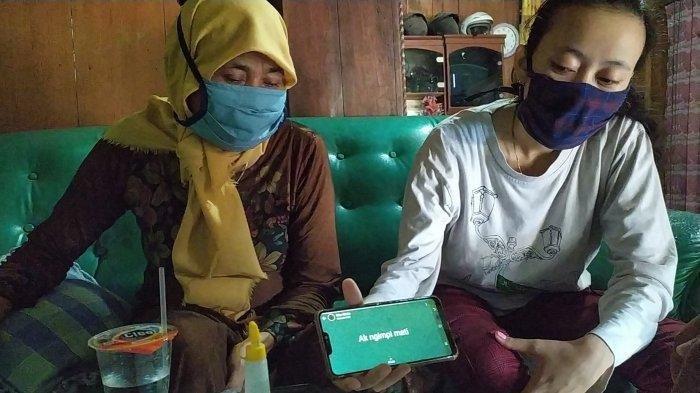 Status WA Keong Sebelum Ditemukan Tewas, Minta Ibu Pasang Kelambu di Kamar : Aku Akan Pergi Jauh