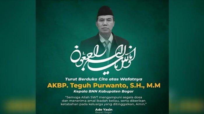 Kepala BNNK Bogor Tutup Usia, Dikabarkan Pasca Terpapar Covid-19