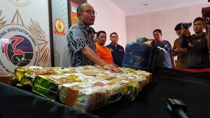 Penyelundupan 20 Kilogram Sabu Asal Malaysia Melalui Jalur Laut Berhasil Digagalkan Polisi