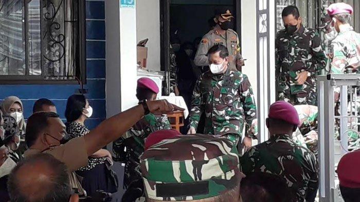Kepala Staf TNI AL Kunjungi Rumah Letkol Laut Irfan Suri di Bogor, Pendidikan Anaknya Akan Dijamin