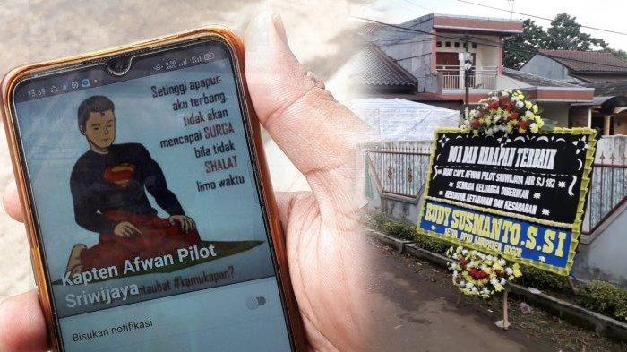 Kenang Sosok Pilot Sriwijaya Air SJ 182, Keponakan Teringat Nasihat Captain Afwan : Beliau Penyayang