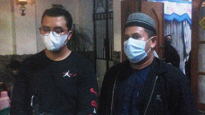 Keponakan pilot Sriwijaya Air SJ 182 Captain Afwan, Reza dan Muhamad Akbar