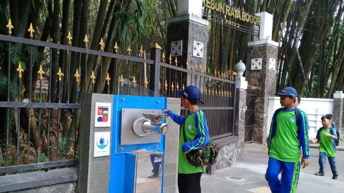 Sempat Dikira untuk Cuci Muka, PDAM Tirta Pakuan Pastikan Air di Keran Pendestrian Aman Diminum