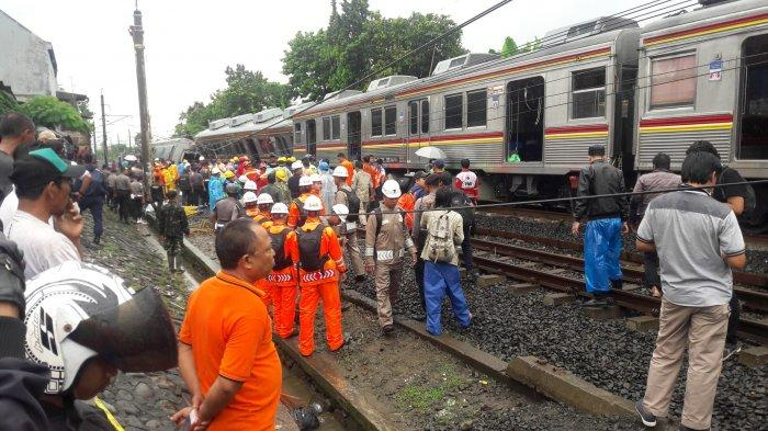 14 Korban Kereta Anjlok Kebon Pedes Bogor Masih Jalani Perawatan di Rumah Sakit