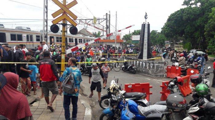 Cerita Warga Saat Kereta Anjlok di Bogor, Dengar Suara Keras Saat Cuci Piring