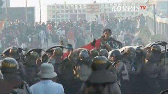 5 Orang yang Diamankan saat Demo di Sekitar DPR Positif Narkoba