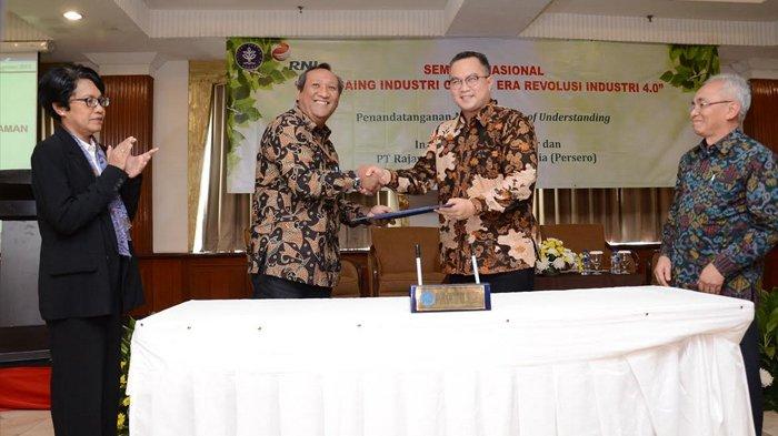 IPB dan PT. RNI Teken Kerjasama Tingkatkan Daya Saing Industri Gula di Era Industri 4.0